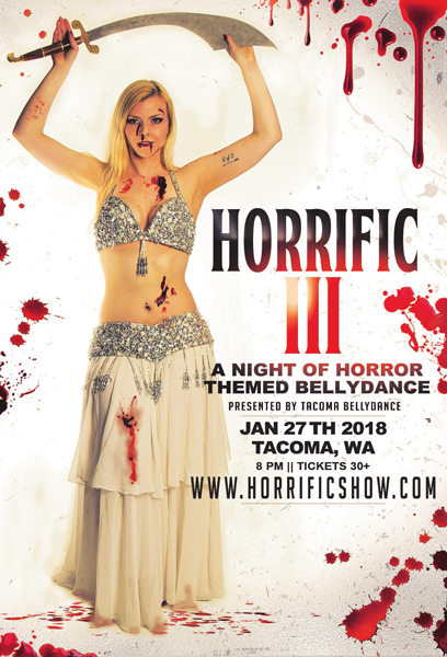 Horrific: A Night of Horror Themed Belly Dance