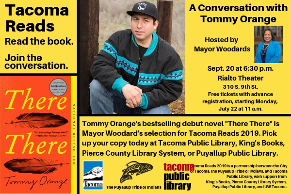 Tacoma Reads:<br />A Conversation with Tommy Orange
