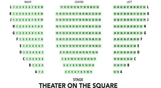 Theatre On The Square Seating Chart for Tacoma Arts Live Events