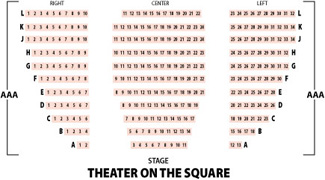 Tacoma City Ballet Theatre on the Square Seating Chart
